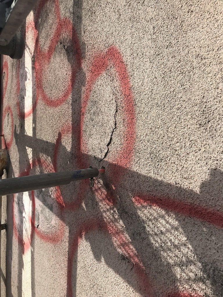 壁面補修工事 大阪 塗装
